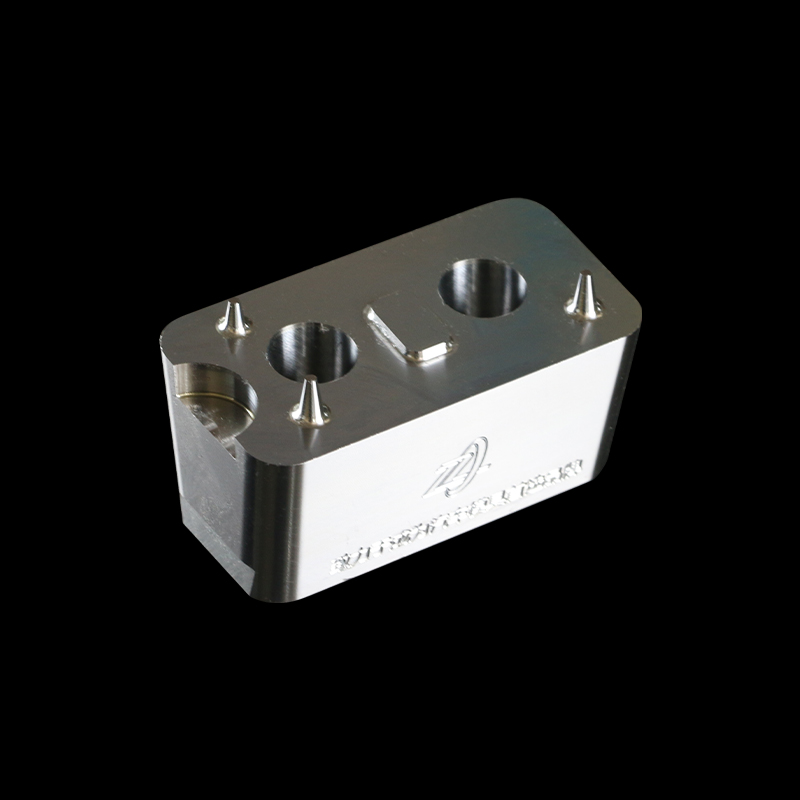 High Precision Mould Part with Double Holes