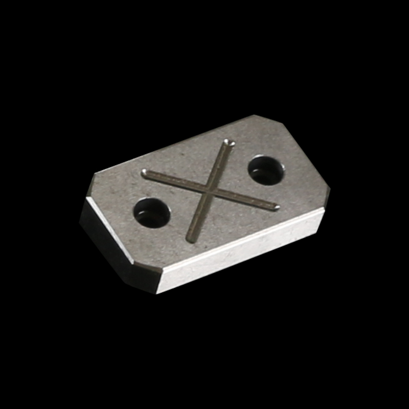Custom CNC Milling Tin Coated Billet Steel Locating Block